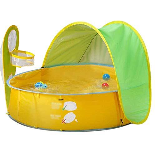 Baby Beach Tent, Pop-Up Baby Beach Tent Portable Shade Pool UV-Bescherming Van De Zon Shelter Voor Jonge Kinderen, Strand Tent Baby Zwembad