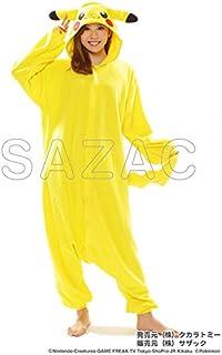 SAZAC(サザック) フリース着ぐるみ ピカチュウ ポケモン