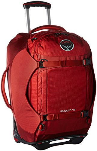 Osprey Packs Sojourn Wheeled Luggage, Hoodoo Red, 45 L/22'