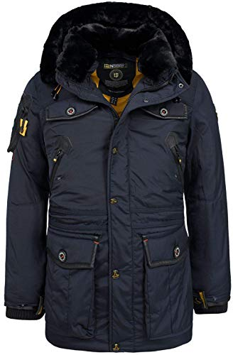 Geographical Norway Herren Winterjacke Acrobate Navy M