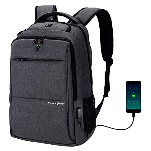 Laptop Backpack for Men Women, Business Travel Slim Durable Laptops...