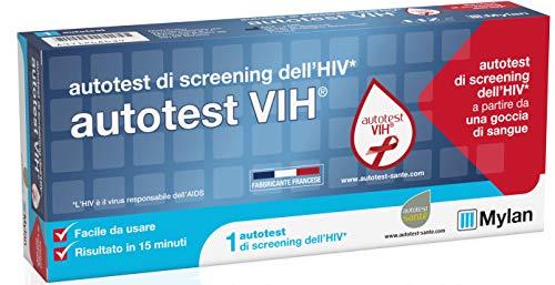 Autotest VIH Test Rapido di Screening del Virus HIV, Responsabile dell'AIDS, Confezione Singola