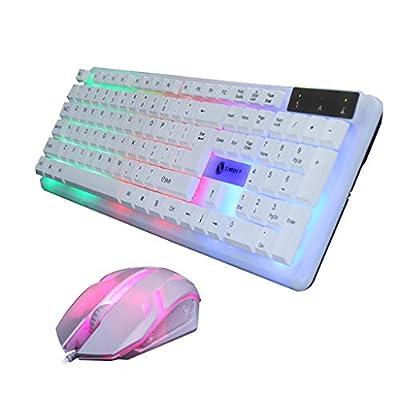 XLSTORE T11 Colorful LED Illuminated Backlit US...