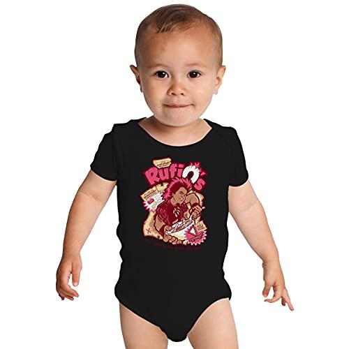 Huang RufiOs Body pour bébé Motif céréales - Blanc - 24 mois
