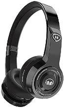 Monster Elements Wireless On-The-Ear Bluetooth DJ Headphones, Black Platinum (137056-00)