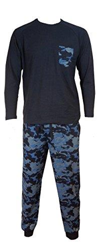 u-wear Mens Camouflage Pyjama ans Thermal Sock Pack (2XLARGE)