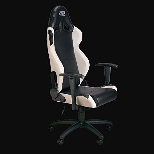 OMP OMPHA/777E/NW Asiento, Negro/Blanco
