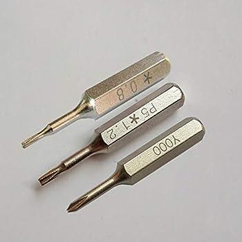 0.6 Destornillador Tri punto de reparación Destornillador Herramienta Y000 para Apple iPhone 8 y 8 Plus