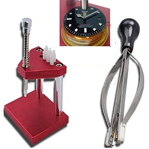 OTOOLWORLD Watchmaker Watch Hand Presto Presser Lifter Puller Plunger Remover set Fitting Repair Tools