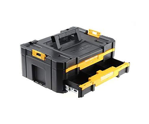 デウォルト Dewalt 工具箱 プラスチック 黒、黄 314x440x176mm TStak Tool Storage DWST1-70706