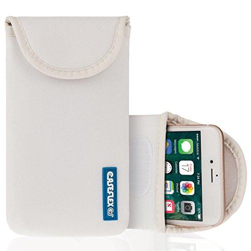 Caseflex Kompatibel Für iPhone 6S / 6 Tasche Weiß Neoprene Beutel Hülle