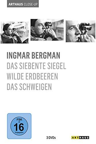 Arthaus Close-Up: Ingmar Bergman ( Das siebente Siegel / Wilde Erdbeeren / Das Schweigen ) [3 DVDs]