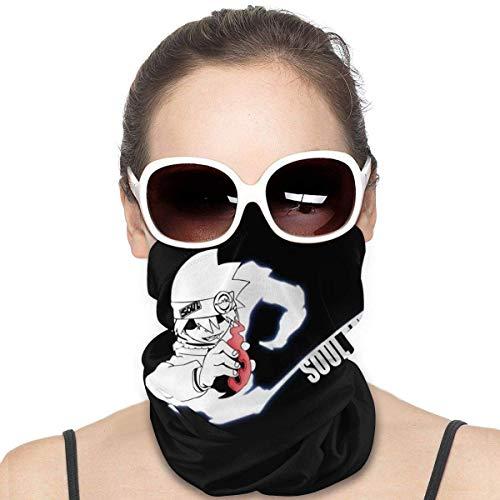ZQLXD Soul Eater Bandana de refrigeración unisex calentador de cuello, pasamontañas, bufanda, turbantes