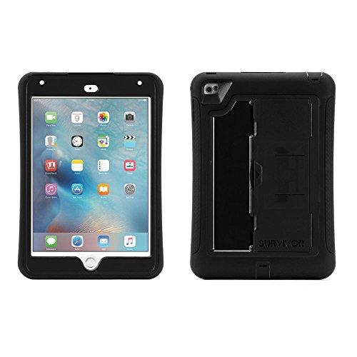 Griffin Survivor Slim - Funda para Apple iPad Mini 4, Color Negro