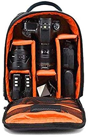 Xsquare Waterproof DSLR Backpack Camera Bag, Lens Accessories Carry Case for Nikon, Canon, Olympus, Pentax & Others-Made in India