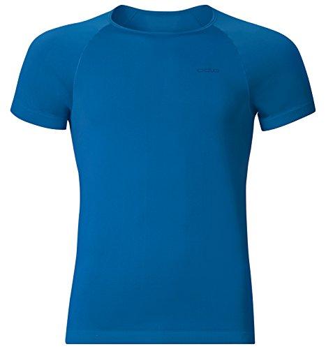 Odlo Unterhemd Shirt Shortsleeve Crew Neck Evolution X-Light Tricot Homme, Directoire Blue, L