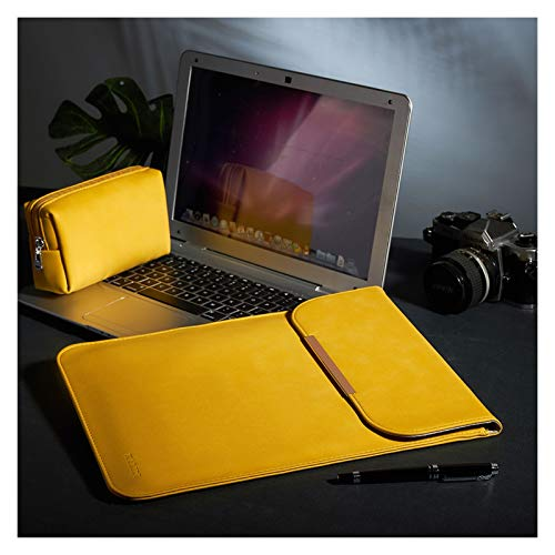 WSGYX Laptop Sleeve Bag Laptop Case For MacBook Pro 13 Inch MacBook Air Waterproof Bag For Surface Pro (Color : Yellow, Size : Surface Book 3 13.5)