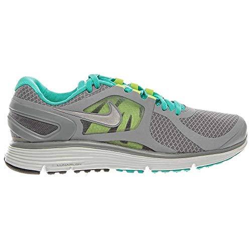 Nike Lunareclipse +2 487983-002 Stealth Grey/Sky Blue/Volt Size 11.5