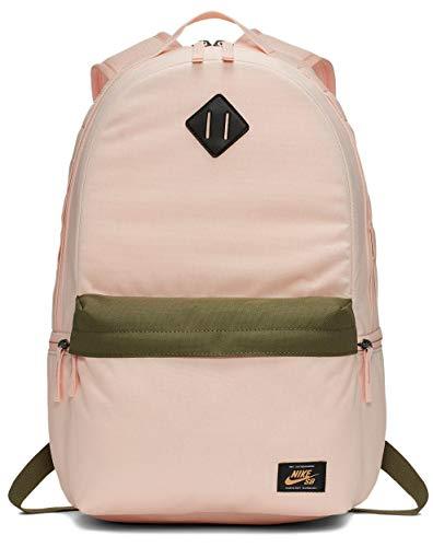 Nike heren SB Icon Backpack rugzak, washed coral/medium olijf/fel oranje, MISC