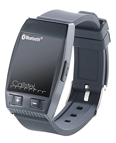 Callstel Armband Telefon: Freisprech-Armband mit Bluetooth, Lautsprecher, schwarz (Freisprech Smartwatch)