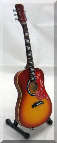JONNY GREENWOOD Miniatur Gitarre Gibson Hummingbird