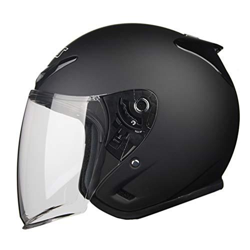 Cascos Open Face 3/4 Half Helmet Cascos Moto Mujer Open-Air Motorcycle Crash Retro Half Helmet Casco De Moto Mujer