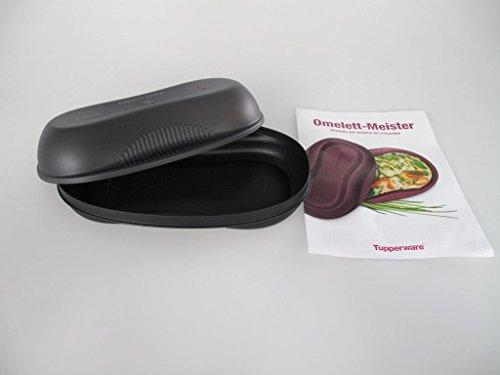 TUPPERWARE Tortilla Maker de 430 ml negro + libro de recetas alemán 15527