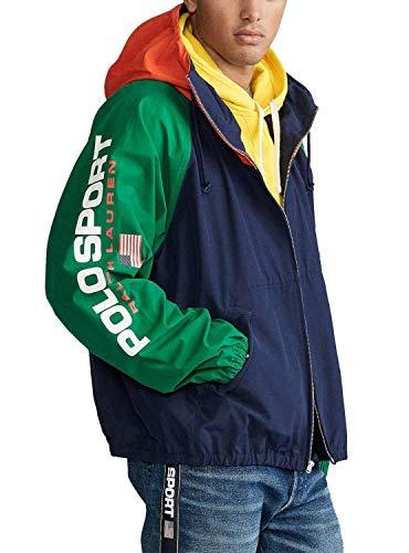 Polo Ralph Lauren Herren Jacke Color Block, Mehrfarbig X-Large