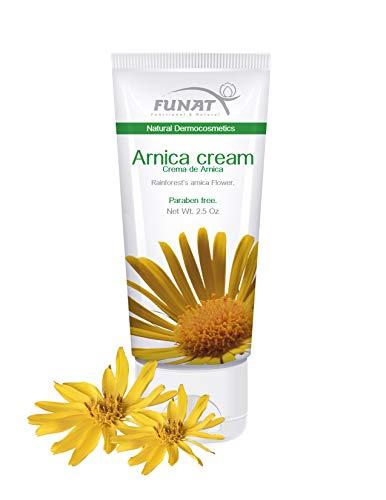 FUNAT Arnica Cream 2.5 Fl Oz / Crema de Arnica