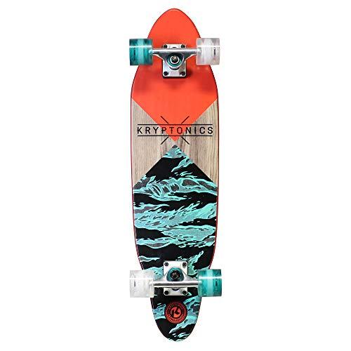 Kryptonics 76,2 cm Cutaway Cruiser Skateboard – Sections