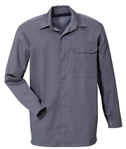 Rofa Schweisser Hemd 468 flammhemmend Antistatik grau Gr. H44 127468 121 H44 Schweißershirts Schweißerhemden