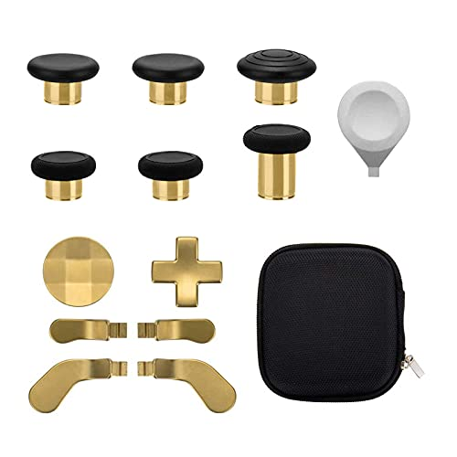 13 in 1 Metal Thumbsticks for Xbox One Elite Series 2, Xbox One Elite 2 Controller Parts, Gaming...