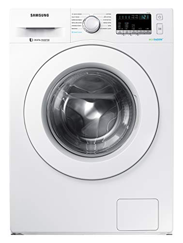 Samsung 7.0 Kg Inverter Fully-Automatic Front Loading Washing Machine (WW71J42E0KW/TL, White)