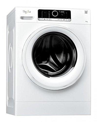 Whirlpool FSCR 70413 Independiente Carga frontal 7kg 1400RPM A+++ Blanco - Lavadora (Independiente, Carga frontal, Blanco, LED, 49 L, 7 kg)