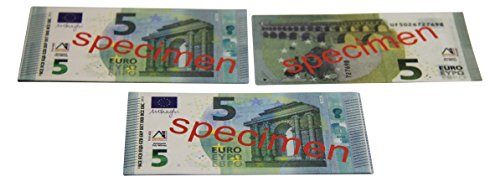 WISSNER aktiv lernen - Euro Spielgeld zum Rechnen 100 x 5 Euro Banknoten