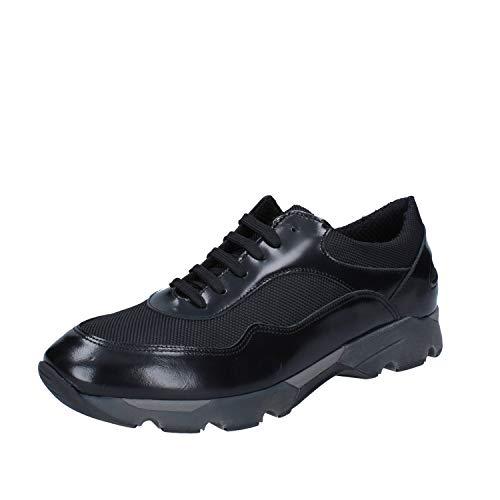 Baldinini Sneakers Herren Leder schwarz 40 EU