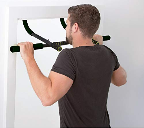 Silver Valley Total Upper Body Workout Bar Door Gym Chin Up Pull-Up Bar Professional Heavy Duty
