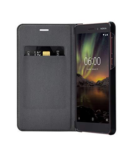 Nokia 6.1-Flip Cover CP 308Nero, 1a21rsf 00va