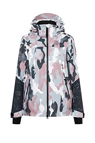 Bogner Fire + Ice Ladies Hanna Camouflage Bunt, Damen Jacke, Größe 38 - Farbe Dusty Rose