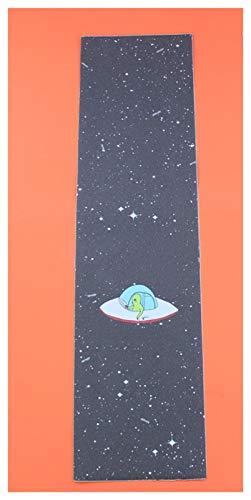 GUANGHEYUAN-J Cinta de Agarre de patineta, Papel de Lija de monopatín 23x84cm, Anti-Slid Graphic Deck Protector, Scooter Skateboard Deck Griptape Piezas de patineta (Color : J)