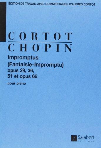 Impromptus (fantaisie-impromptu), op. 29, 36, 51 piano