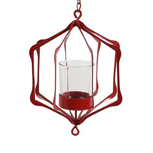 Chutd Moderne minimalistische smeedijzer-kroonluchter, kandelaar, creatieve kaarsen, persoonlijkheidsdecoratie, decoratie van de tuin, koffie,