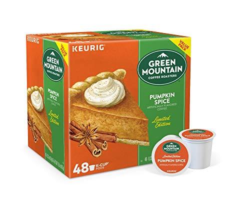 Green Mountain Pumpkin Spice Coffee Keurig K Cups, 48 Count
