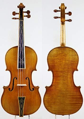 LOIKHGV Geige- Barock 4/4 Violine Violino, Kopie Stradivari, wie abgebildet