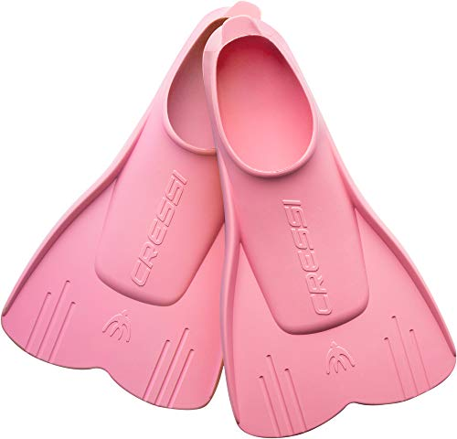 Cressi Unisex-Youth Mini Light Fins Kinder Schnorchelflossen, Rosa, 25/28