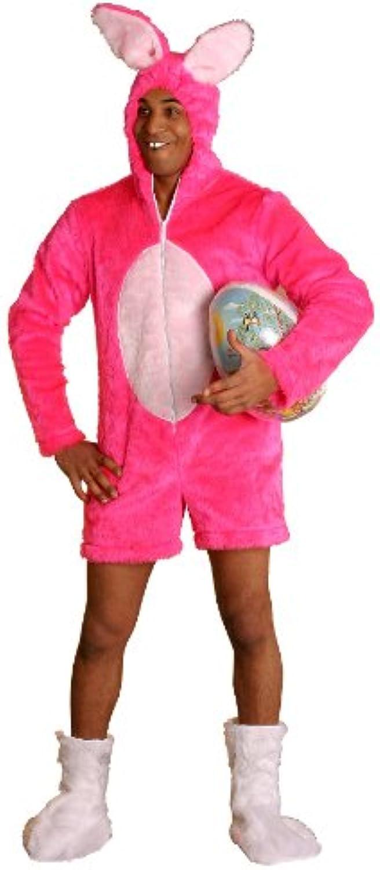 Costume déguisement lapin sexy enterrement de vie de jeune fille pink size m