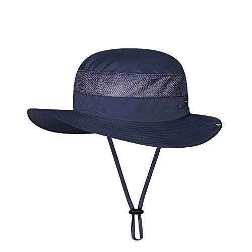 ZHENQIUFA Sombrero Pescador Gorras Sombreros De Cubo Sombrero De Camuflaje De Color Sólido para Exteriores Pesca Camping Barbacoa Sombrero De Escalada De Montaña-G
