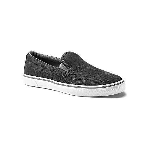Eddie Bauer Women's Haller Slip-On, Black Regular 9M