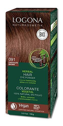 Logona Haarkleuring 091 Choco Bruin, 100 g