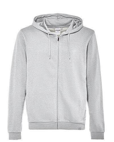 CARE OF by PUMA Sudadera con capucha de manga larga con capucha y cremallera para hombre, Gris (Grey), XS, Label: XS